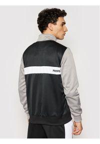 Prosto. - PROSTO. Bluza KLASYK Tracktop Benzo Czarny Regular Fit. Kolor: czarny