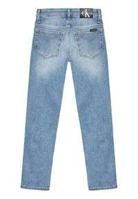 Niebieskie jeansy Calvin Klein Jeans