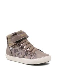 Geox Sneakersy J Gisli G. A J164NA 00454 C1X2U S Brązowy. Kolor: brązowy