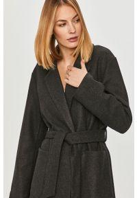 Szary płaszcz only bez kaptura, na co dzień, casualowy #6