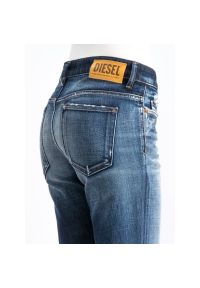 Niebieskie jeansy slim Diesel