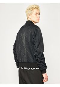 Czarna kurtka bomberka Versace Jeans Couture