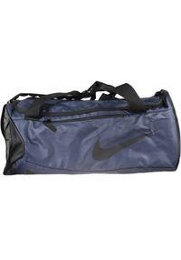 Niebieska torba sportowa Nike w kolorowe wzory