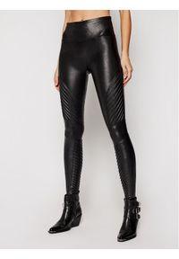 Spanx - SPANX Legginsy Faux Leather Moto 20136R Czarny Slim Fit. Kolor: czarny