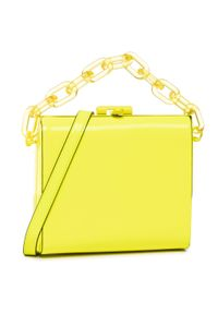 Żółta torebka klasyczna Aldo klasyczna
