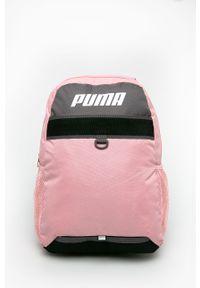 Różowy plecak Puma z nadrukiem