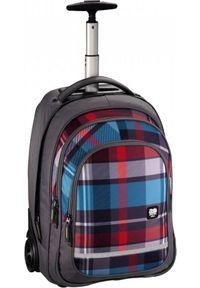 ALL OUT - All Out Plecak szkolny na kółkach Bolton woody grey