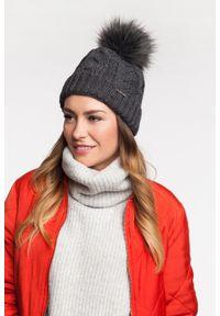 Czarna czapka zimowa PaMaMi #3