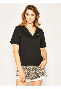 Czarny t-shirt Lacoste