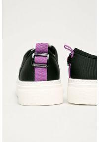 Call It Spring - Tenisówki Sprout. Nosek buta: okrągły. Zapięcie: sznurówki. Kolor: czarny. Materiał: guma. Obcas: na platformie
