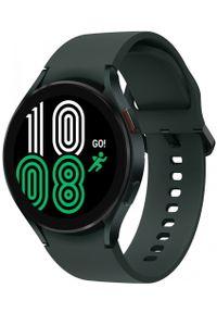 SAMSUNG - Samsung Galaxy Watch4 44mm Green. Rodzaj zegarka: smartwatch. Kolor: zielony. Styl: militarny