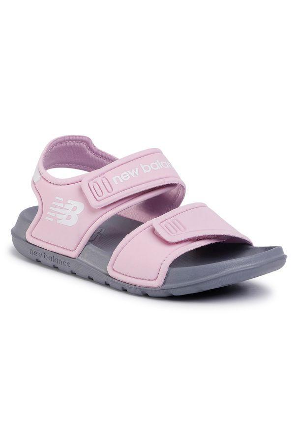 Różowe sandały New Balance na lato