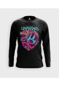 MegaKoszulki - Koszulka męska z dł. rękawem Unmasked. Materiał: bawełna