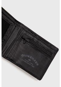 Brązowy portfel Quiksilver gładki