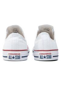 Białe buty sportowe Converse Converse All Star, na co dzień, z cholewką