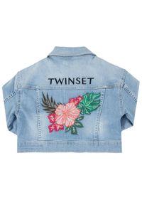 Niebieska kurtka przejściowa TwinSet