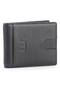 CATerpillar - Etui na karty kredytowe CATERPILLAR - Topaz 83646-80 Black. Kolor: czarny. Materiał: skóra