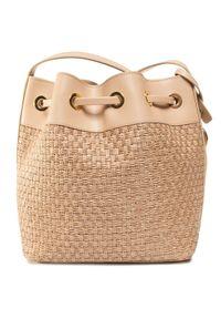 Beżowa torebka worek Gino Rossi
