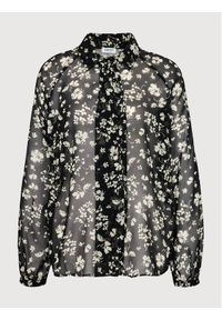Liu Jo Koszula WF1116 T3033 Czarny Regular Fit. Kolor: czarny