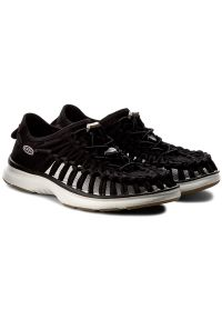 Czarne sandały keen sportowe