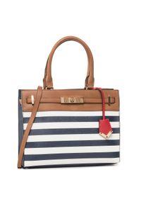 Niebieska torebka klasyczna Aldo klasyczna
