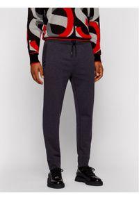 BOSS - Boss Spodnie dresowe Lamont 42 50443197 Szary Regular Fit. Kolor: szary. Materiał: dresówka