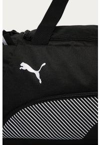 Czarna torba Puma z nadrukiem