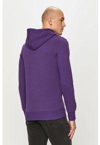 Jack & Jones - Bluza. Typ kołnierza: kaptur. Kolor: fioletowy. Materiał: dzianina, bawełna, poliester. Wzór: gładki #5