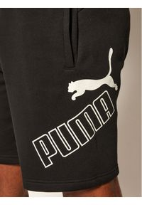 Czarne spodenki sportowe Puma