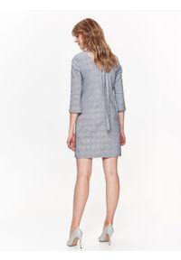 Szara sukienka TOP SECRET mini, na lato
