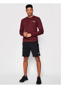 New Balance Bluza C C F Crew MT03911 Bordowy Athletic Fit. Kolor: czerwony
