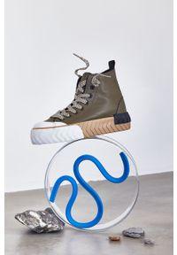 medicine - Medicine - Trampki Essential. Nosek buta: okrągły. Zapięcie: sznurówki. Kolor: zielony. Szerokość cholewki: normalna. Obcas: na platformie