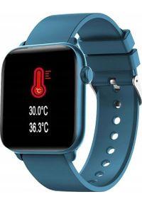 Smartwatch King Watch KW37 Niebieski. Rodzaj zegarka: smartwatch. Kolor: niebieski