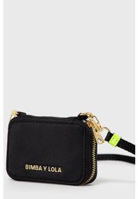 Czarny portfel Bimba y Lola gładki