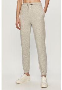 Szare spodnie dresowe Jacqueline de Yong melanż #3