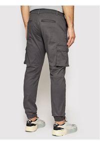 Only & Sons Spodnie materiałowe Cam Stage 22016687 Szary Regular Fit. Kolor: szary. Materiał: materiał