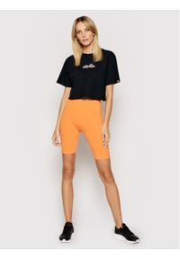 Ellesse T-Shirt Fireball SGB06838 Czarny Loose Fit. Kolor: czarny