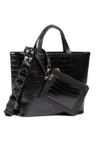 Czarna torebka klasyczna Nobo na ramię, klasyczna