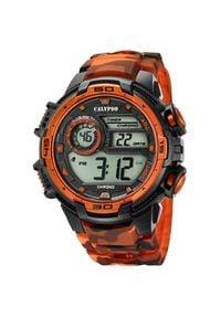 Calypso Cyfrowy Man dla K5723 / 5. Rodzaj zegarka: cyfrowe. Materiał: guma