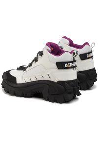 Białe sneakersy CATerpillar z cholewką