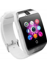 Biały zegarek smartwatch