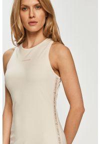 Sukienka Calvin Klein Jeans mini, bez rękawów