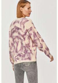 Fioletowy sweter Answear Lab długi, na co dzień, wakacyjny, z długim rękawem