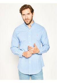 Niebieska koszula casual Polo Ralph Lauren polo