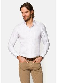 Lancerto - Koszula Mixkolor w Kratę Dallas. Materiał: bawełna, tkanina, jeans. Wzór: ze splotem, kolorowy