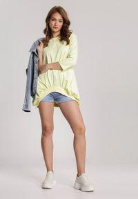 Renee - Żółta Bluza Criameia. Kolor: żółty #5