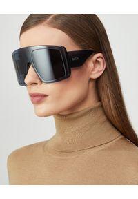 DIOR - Czarne okulary DiorSoLight1. Kolor: czarny. Materiał: materiał