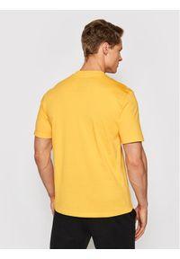 CATerpillar T-Shirt 2511242 Żółty Regular Fit. Kolor: żółty #4