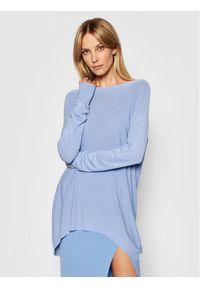 Kontatto Sweter 3M7218 Niebieski Oversize. Kolor: niebieski