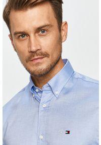 Niebieska koszula Tommy Hilfiger Tailored button down, casualowa, na co dzień